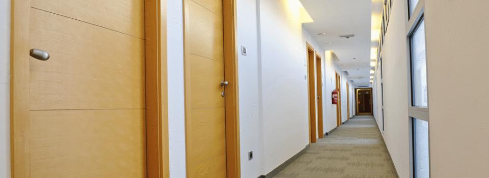 ASDMA Corridor of Timber Doors
